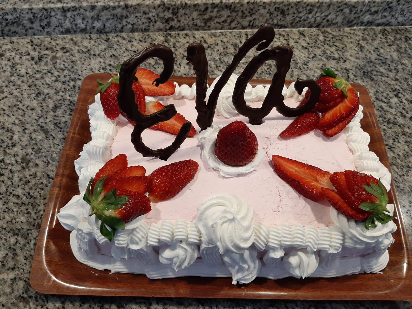 eva birthday cake